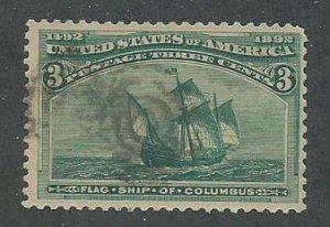 1893 United States Scott Catalog Number 232 Used