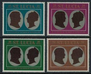 St. Lucia #253-6* NH  CV $1.00