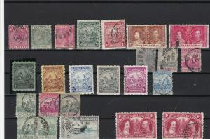 barbados mounted mint and used stamps ref r11910