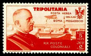 1934 Tripolitania #CB8 Air Post Semi-Postal - OGNH - VF - CV$57.78 (ESP#4160)