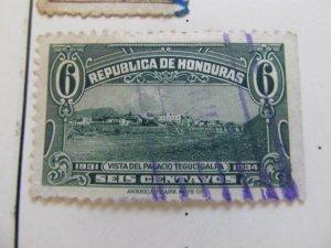 Honduras 1931 6c fine used stamp A11P12F45