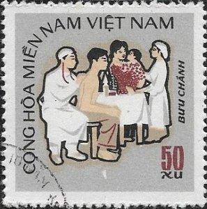 1971  Vietnam  NFL Nursing Mitchel# 46 Used