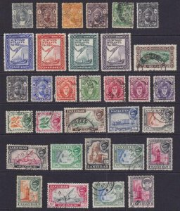 ZANZIBAR - INTERESTING MINT AND USED COLLECTION REMOVED FROM STOCK PAGE - V449