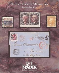 Ivy & Mader:    The Ivy & Mader 1998 June Sale, Ivy & Mad...