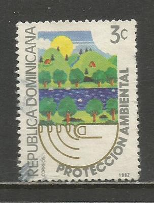 Dominican Rep.   #873  Used  (1982)