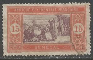 SENEGAL 87 VFU Z2869