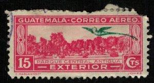 1935, Airmail, Local Motives, Inscribed INTERlOR, Guatemala, 15c (RT-247)