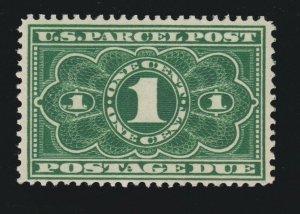 US JQ1 1c Parcel Post Postage Due Mint F-VF OG NH SCV $22.50