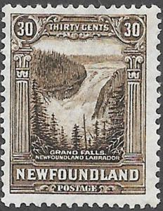 Newfoundland Scott Number 182 FVF H