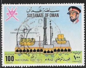 Oman 165 Used - National Day 1975