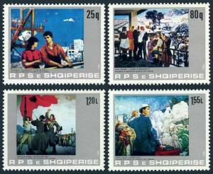 Albania 2077-2080,MNH.Michel 2186-2189. Paintings 1983,by Myrteza Fushekati,