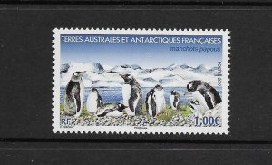 PENGUINS - FRENCH SOUTHERN ANTARCTIC TERRITORIES - #616  MNH