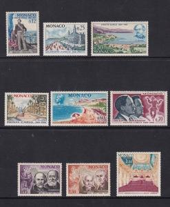 Monaco   #631-638   MNH  1966  centenary founding of Monte Carlo