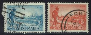 Australia SG# 147 & 148 - Used - Lot 022116