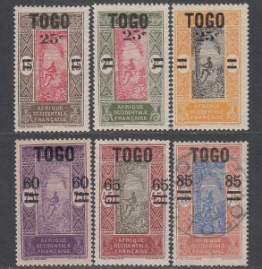 Togo 210-215 MH / Used CV $7.00