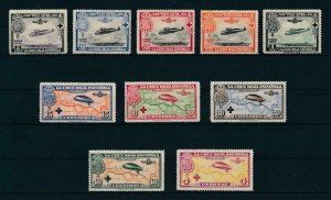 [107844] Spain 1926 Red Cross airmail stamps Complete set MLH