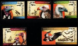 Botswana - Scott # 983-87 VF Mint Never Hinged