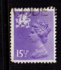 Wales - #WMMH27 Machin Queen Elizabeth II - Used