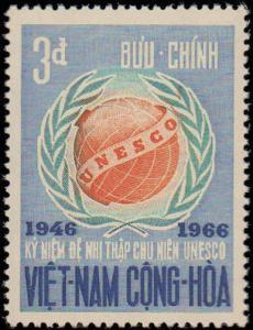 1966 Vietnam #298-300, Complete Set(4), Never Hinged