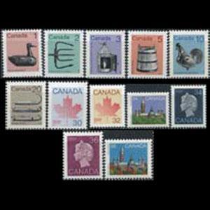 CANADA 1982 - Scott# 917-26B Artifacts 1-36c NH