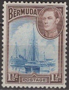 Bermuda; 1938: Sc. # 119: *-MH Single Stamp