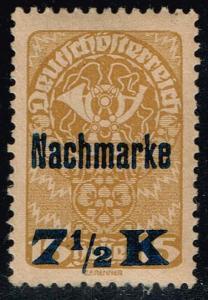 Austria #J102 Postage Due; Unused (0.25)
