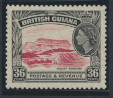 British Guiana SG 340 Mint Light Hinge  (Sc# 262 see details)