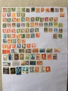 Denmark 100+ stamps - Lot D