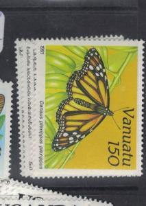 Vanuatu Butterfly SC 532-5 MNH (3dpr)