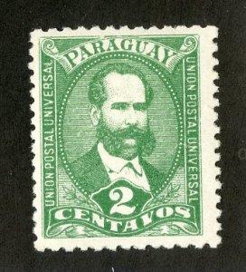 PARAGUAY 34 MH BIN $.25
