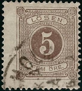 Sweden SC J14 Used Fine One short perf SCV $4.50... Fill a Value spot!
