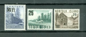 NORFOLK LANDSCAPE  #26-28...SET...MNH...$16.75