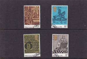 GB 1976 500th anniversary of British Printing Set SG1014-17 VFU from FDC VGC