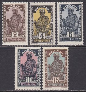 Upper Volta Sc #44-48 Mint Hinged
