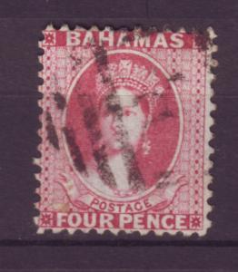 J12198 JL stamps 1882-98 bahamas used #25 queen $60.00 scv