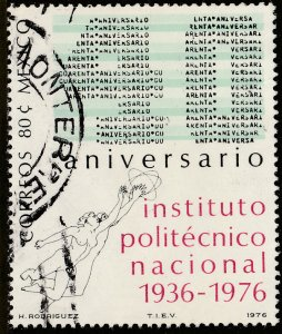 MEXICO 1152 40th Anniv National Polytechnic Institute USED. F-VF. (645)