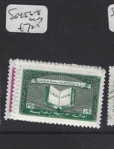 SAUDI ARABIA (P0102B)  SG 456-8     MOG