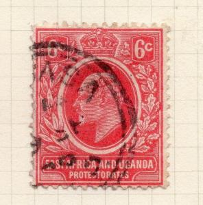 British KUT 1907 Early Issue Fine Used 6c. 277598