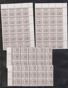 Trinidad & Tobago Wholesale Lot 70 National Insurance Stamps $1354.50 Face