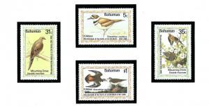 Bahamas 576-79 MNH 1985 Birds