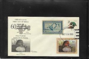 RW1-JDS1 1ST Federal Junior Duck Stamp with RW1 1st Day Issue- VERY RARE-OFFER?