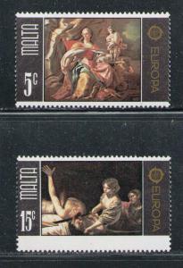MALTA 1975 MNH SC.495/496 CEPT Europe