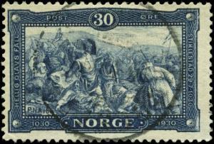 Norway Scott #153 Used
