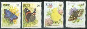 Ireland Scott 612-615 Butterflies! MNH!
