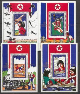 Korea N 1878-81 MNH IYC/Transport SCV25