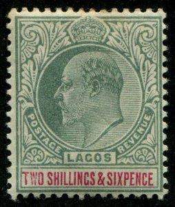 HERRICKSTAMP LAGOS Sc.# 47 Mint LH Scott Retail $160.00