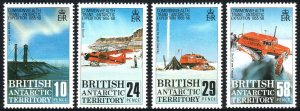 British Antarctic Territory 145-148, MNH. Trans-Antarctic Expedition, 1988
