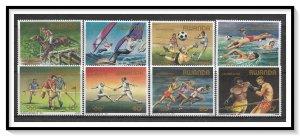 Rwanda #1191-1198 Olympics Set MNH