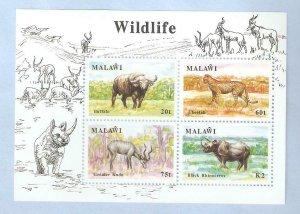 MALAWI  -  SG  MS 862  - WILDLIFE  -  UMM