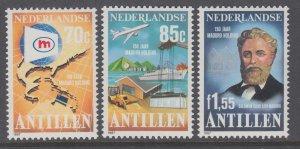 Netherlands Antilles 576-578 MNH VF